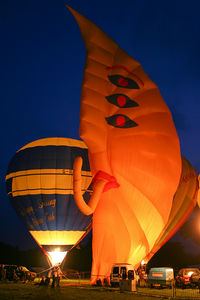 G-BMUL - 2009 Night Glow at Capesthorne Hall, Cheshire. - by MikeP