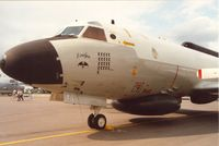 157320 @ EGVA - EP-3E Aries named Evelyn with Desert Storm mission marks of VQ-2 on display at the 1991 Intnl Air Tattoo at RAF Fairford. - by Peter Nicholson