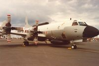 157320 @ EGVA - Another view of the VQ-2 EP-3E Aries on display at the 1991 Intnl Air Tattoo at RAF Fairford. - by Peter Nicholson