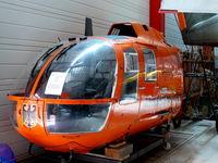 D-HMUY - MBB Bo105C D-HMUY Bundesministerium furs Innere Katastrophenschutz Hermerskeil Museum Flugausstellung Junior - by Alex Smit