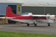 D-ILKA @ EGBJ - German registered Dornier 228 operating the Saturday morning Gloucestershire - IOM service