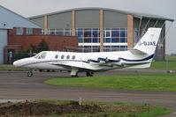 G-DJAE @ EGBJ - Dublin based Citation 500 at Staverton