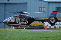 G-PLAL @ EGBJ - Eurocopter EC135T2 at Staverton used callsign Redhead 72