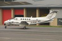 G-PCOP @ EGBJ - Gama Aviation Beech 200 at Staverton