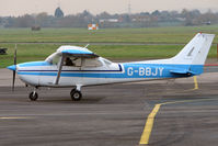 G-BBJY @ EGBJ - Cessna 172M at Staverton
