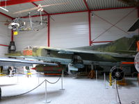 698 - Mikoyan Mig23BN Flogger 698 East German Air Force in the Hermerskeil Museum Flugasusstellung Junior - by Alex Smit
