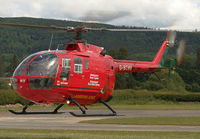 G-BTHV @ EGCW - seen @ Welshpool - by castle
