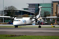 G-ECOW @ EGCC - flybe - by Chris Hall
