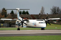 G-JECR @ EGCC - flybe - by Chris Hall