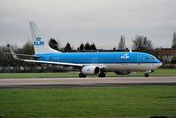 PH-BXV @ EGCC - KLM - by Chris Hall