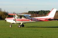 G-BHAV @ EGBD - Cessna 152 at Derby Eggington