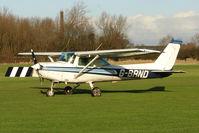 G-BRND @ EGBD - Based Cessna 152 at Derby Eggington