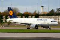 D-AILN @ EGCC - Lufthansa - by Chris Hall
