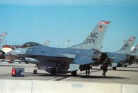 87-0276 @ MCF - F-16C Falcon of 63rd Tactical Fighter Training Squadron/56th Tactical Training Wing at MacDill AFB in January 1990. - by Peter Nicholson