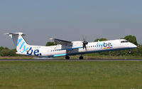 G-ECOA @ EGCC - Just arriving on Runway 05R. - by MikeP