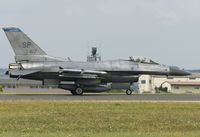 91-0417 @ ETAD - taxying down the runway at Spangdahlem AB - by FBE