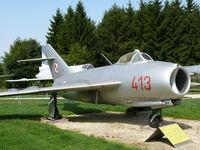 413 - Mikoyan Guerevich Mig17/Lim6 Fresco 413 Polish Air Force in ther Hermerskeil Museum Flugausstellung Junior - by Alex Smit