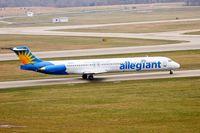 N868GA @ KPIA - Allegiant Airways (N868GA) taxies for departure - by Thomas D Dittmer
