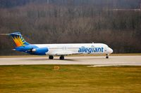 N868GA @ KPIA - Allegiant Airways (N868GA) departure roll - by Thomas D Dittmer