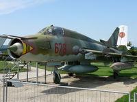 678 - Sukhoi Su22M4 Fitter-C 678 East German Air Force in the Hermerskeil Museum Flugausstellung Junior - by Alex Smit
