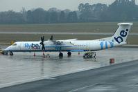 G-FLBC @ EGBB - FlyBe Dash 8 at BHX