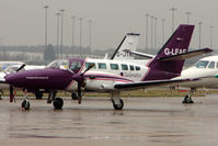 G-LEAF @ EGBB - With the closure of Coventry Airport - the active freight aircraft have re-located to Birmingham