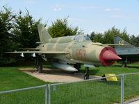 853 - Mikoyan Guerevich Mig21Bis Fishbed 853 East German Air Force in the Hermerskeil Museum Flugausstellung Junior - by Alex Smit