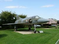 BA35 - Dassault Mirage VBA 13-PL French Air Force in the Hermerskeil Museum Flugausstellung Junior - by Alex Smit