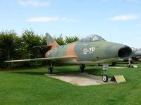 173 - Dassault Super Mystere B2 12-YP French Air Force in the Hermerskeil Museum Flugausstellung Junior - by Alex Smit