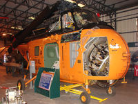 XA870 - Westland Whirlwind HAS1 exhibited at the Doncaster AeroVenture Museum