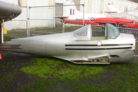 N3188H - Fuselage in a compound  at the Doncaster AeroVenture Museum
