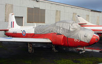 XM350 - Jet Provost T3A exhibited at the Doncaster AeroVenture Museum