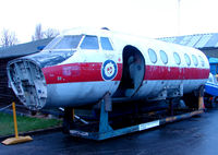 XX477 @ X3DT - Handley Page HP137 Jetstream fuselage exhibited at the Doncaster AeroVenture Museum