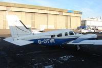G-OTVR @ EGNX - Piper Seneca at East Midlands