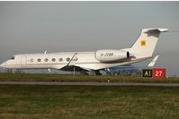 G-JCBB @ EGNX - JC Bamford G550 at home base - East Midlands