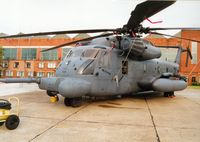 69-5795 @ MHZ - Pave Low III MH-53M of 21st Special Operations Squadron/352nd Special Operations Group in the static park at the Mildenhall Air Fete of 2000. - by Peter Nicholson