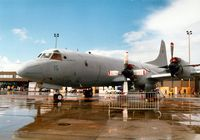 161121 @ MHZ - P-3C Orion of VQ-2 in the static display at the Mildenhall Air Fete of 2000. - by Peter Nicholson