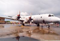161121 @ MHZ - Another view of the VQ-2 P-3C Orion in the static park at the Mildenhall Air Fete of 2000. - by Peter Nicholson