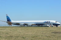 N603AL @ DFW - ATI Freighter at DFW