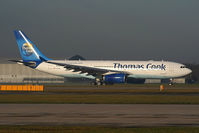 G-OJMB @ EGCC - Thomas Cook Airlines - by Chris Hall