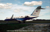 86-0202 @ SBY - C-20B at Salisbury MD airport - by J.G. Handelman