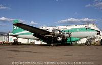 C-FIQM @ CYQF - DC-4/C-54 at Red Deer - by J.G. Handelman