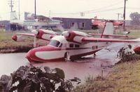 N111W - Leaving Bayou Bouef Seaplane Base - by Bill O. Bailey