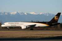N407UP @ KPAE - KPAE Arriving for maintenance by ATS