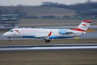 OE-LCO @ VIE - Austrian arrows Canadair Regional Jet CRJ200LR - by Chris J