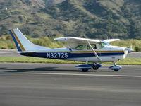 N3272S @ SZP - 1964 Cessna 182G SKYLANE, Continental O-470-S 230 Hp, landing roll Rwy 22 - by Doug Robertson