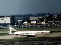 5A-DAE @ LHR - Caravelle 6R of Libyan Arab Airlines at Heathrow in May 1974. - by Peter Nicholson