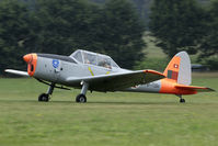 HB-TUM @ EBDT - Former Portuguese Chipmunk 1372 taking off after the 2009 old-timer fly-in at Schaffen-Diest.
