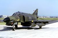 74-1055 @ EDDF - 52nd TFW F-4E (KM25 slidescan) - by FBE