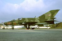 091 @ ETAD - MiG21UM visiting Spangdahlem AB